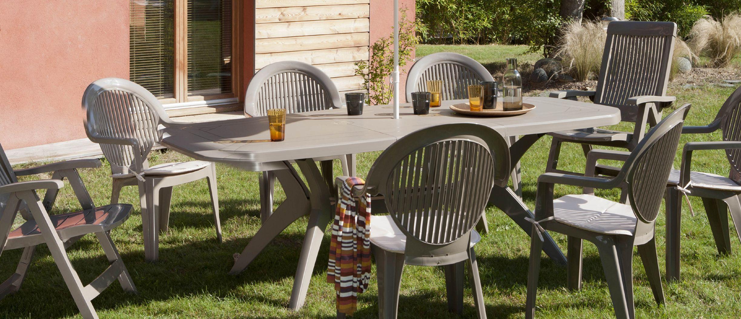 table de jardin ibiza grosfillex