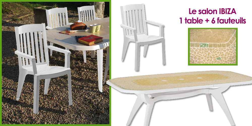 Beautiful Table De Jardin Grosfillex Blanc Pictures - House Design ...