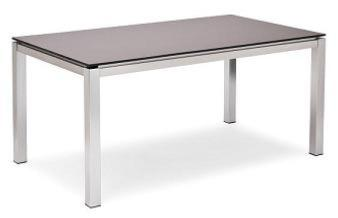 table de jardin inox