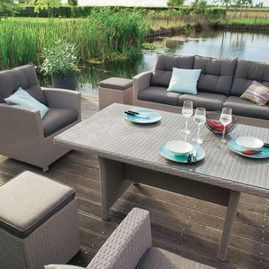 Emejing Table De Jardin En Bois Jardiland Contemporary - House ...