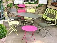 table de jardin plastique gifi