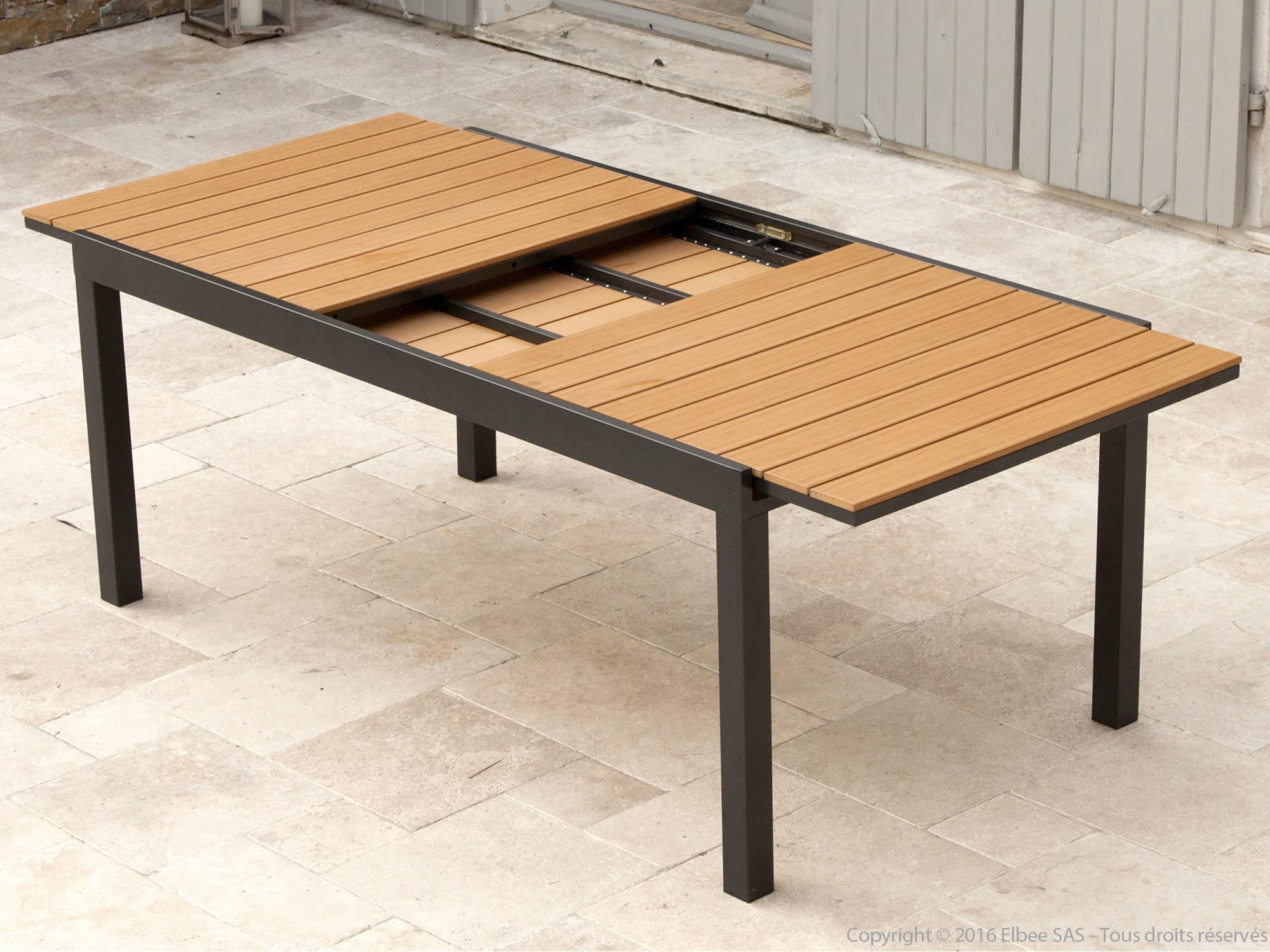 table de jardin kaligrafik
