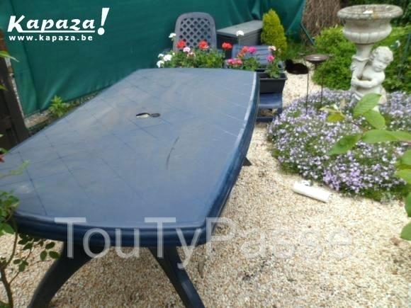 table de jardin kapaza
