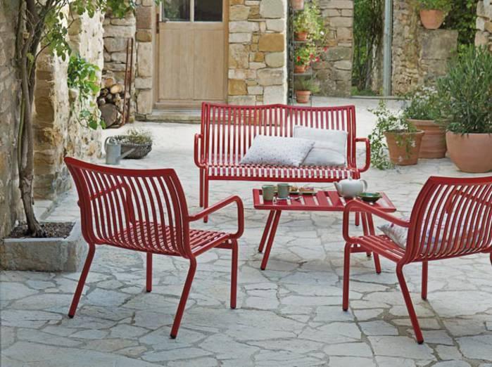 table de jardin kartell