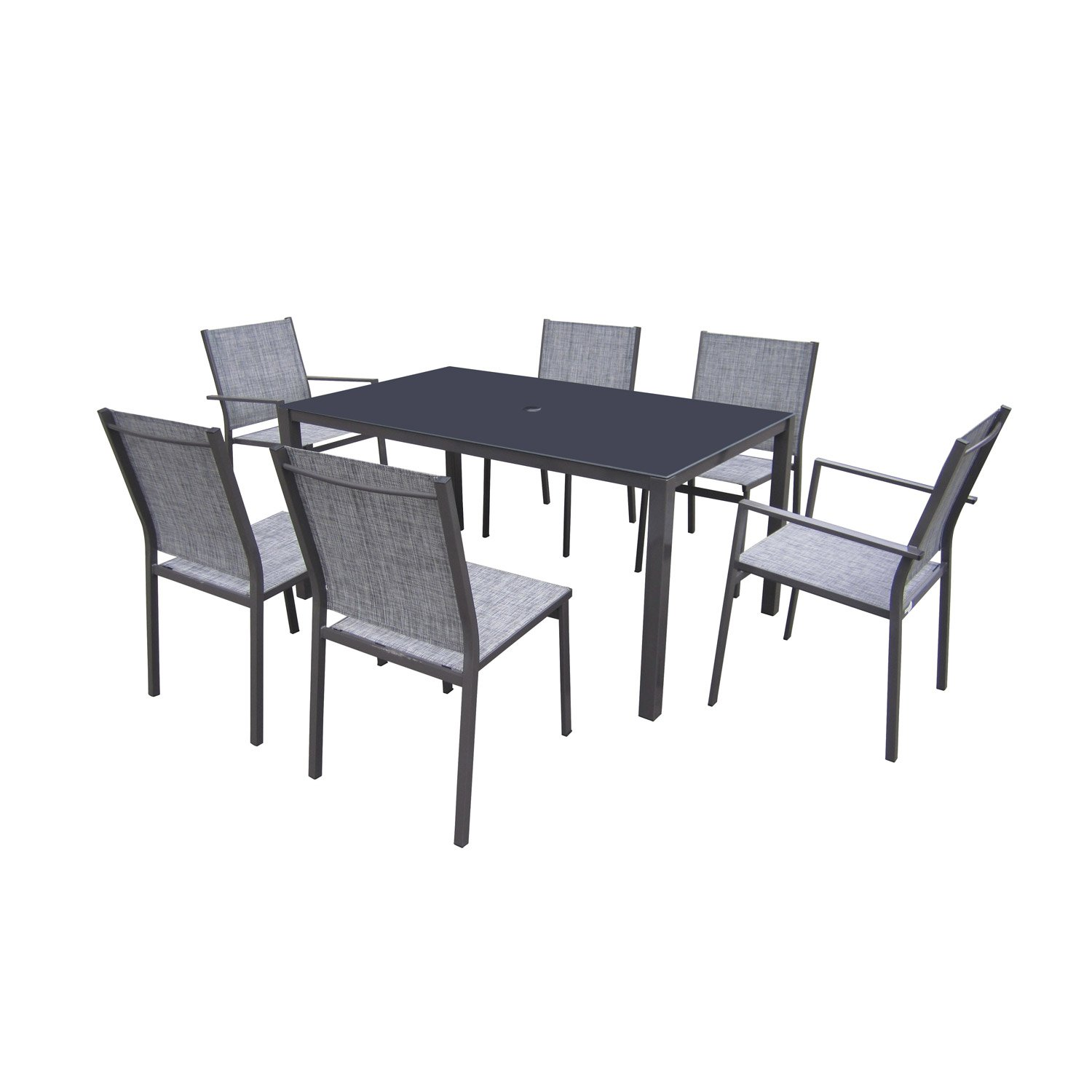 table de jardin kettler alu
