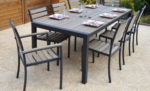 table de jardin kettler alu