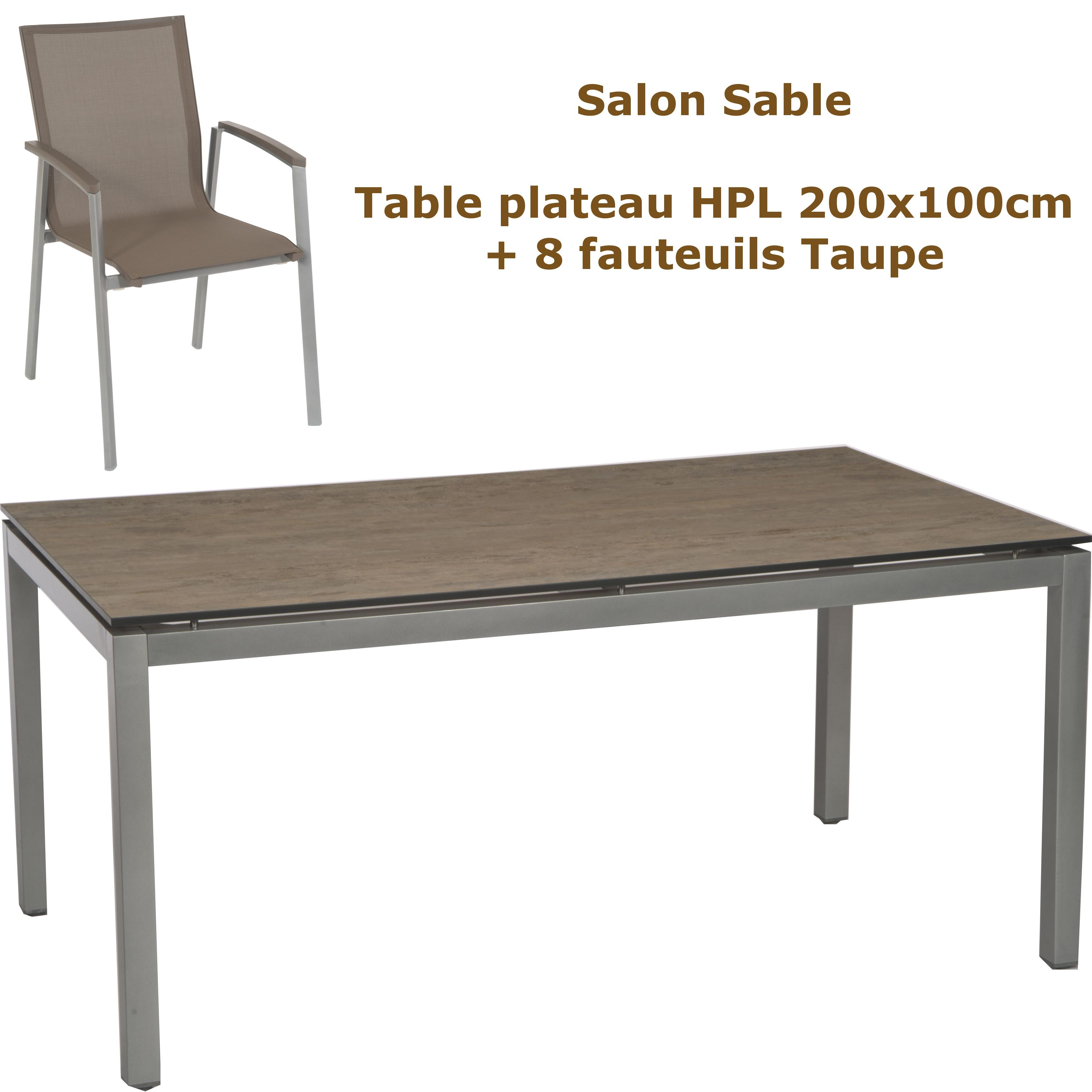 table de jardin kettler en solde