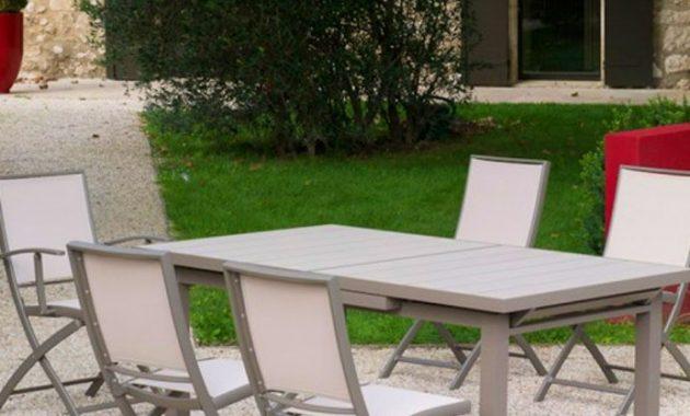 table de jardin kristina