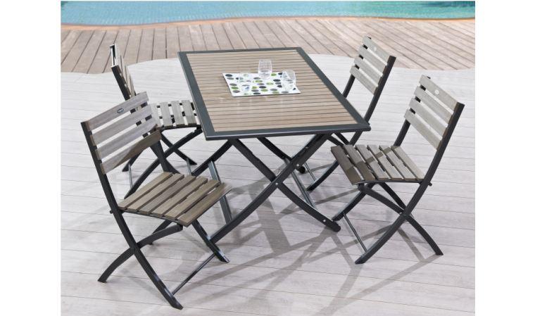 table de jardin largeur 70