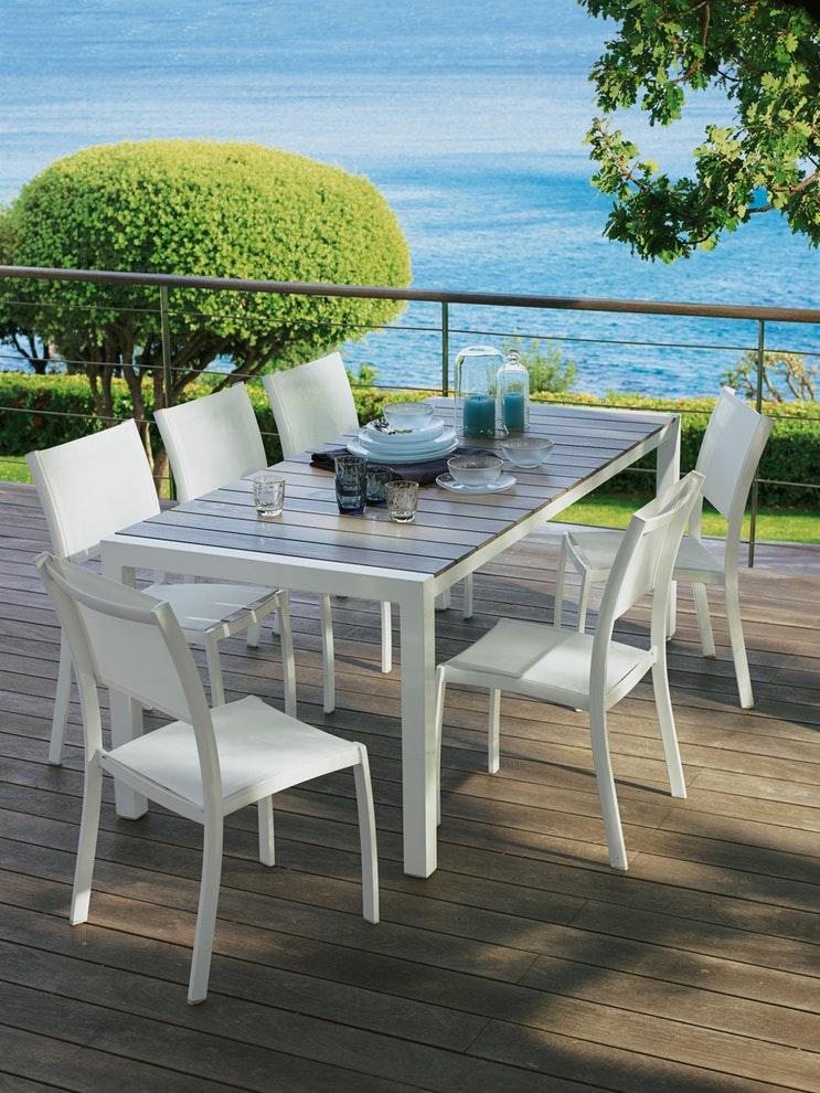 table de jardin leclerc quimper