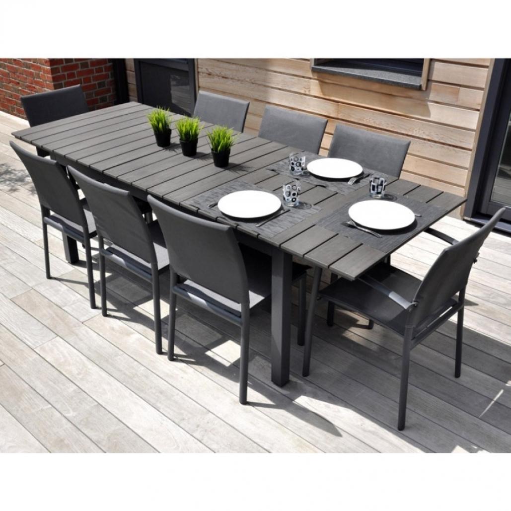 table de jardin leclerc
