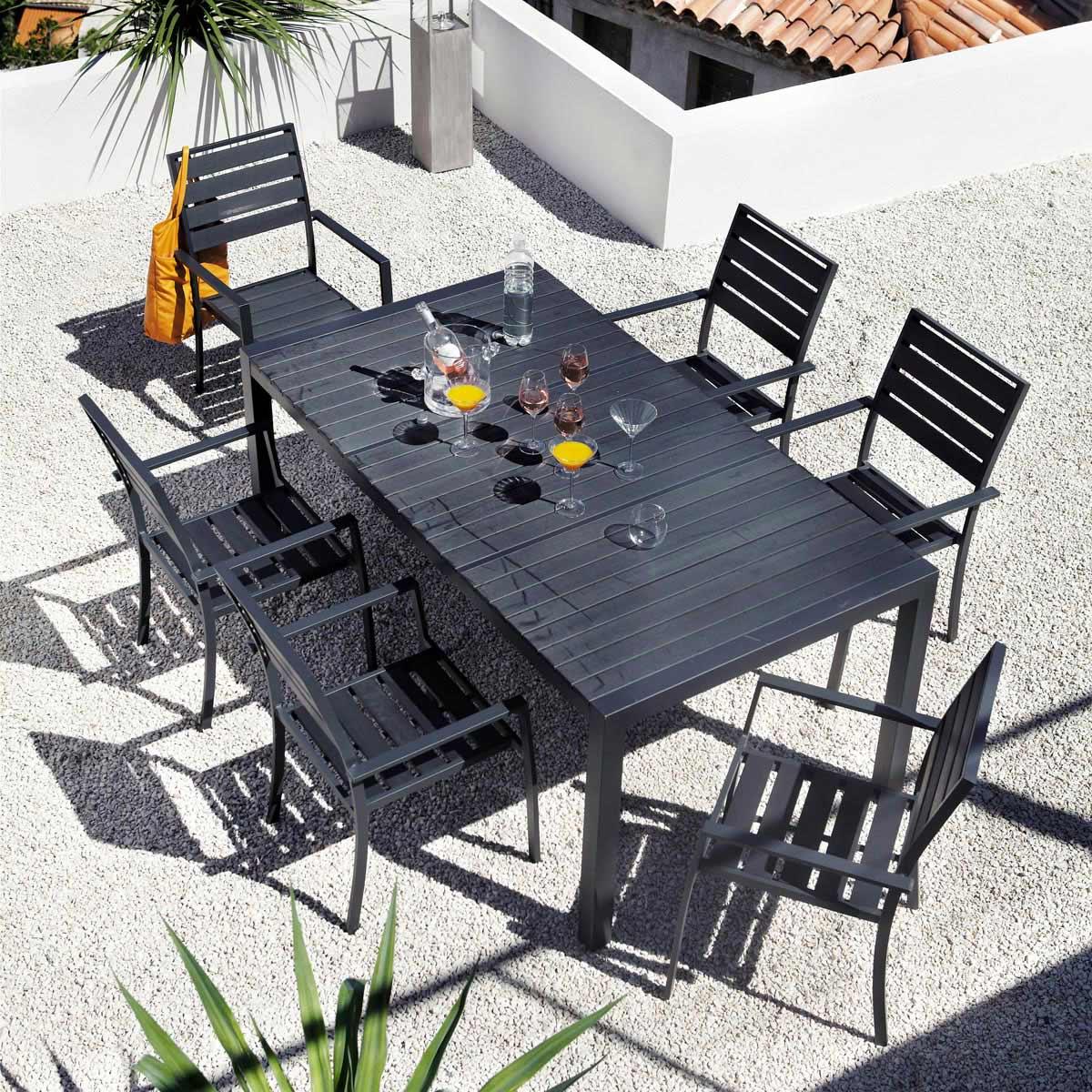 table de jardin maison du monde