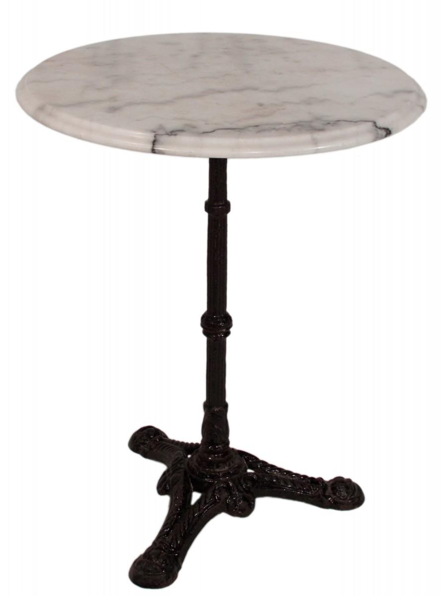 table de jardin marbre