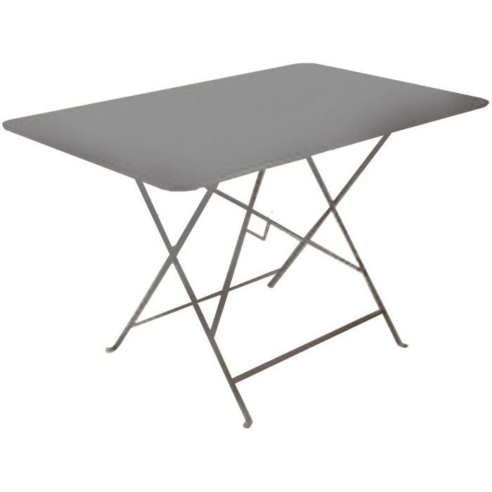 table de jardin metal pliante