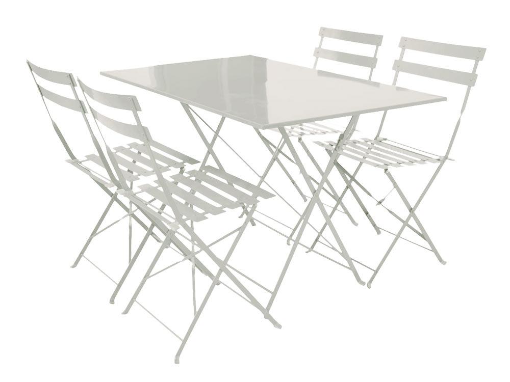 Table Jardin Metal Ronde Pliante. Perfect Table Jardin Metal Ronde ...