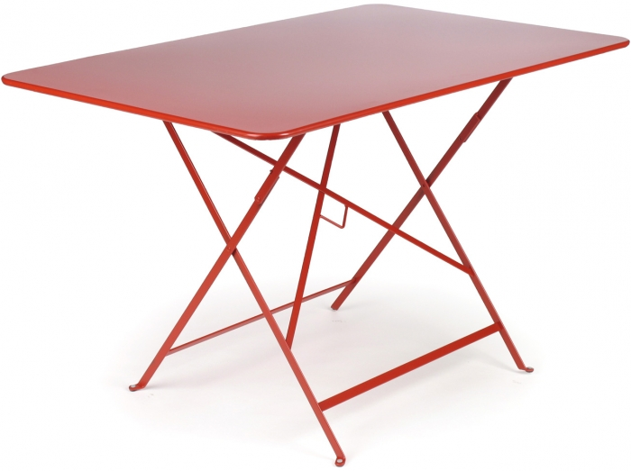 Metal De Jardin Pliante Table H2IeED9bYW