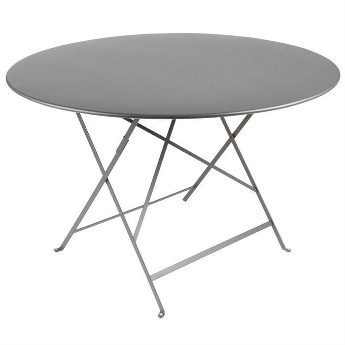 table de jardin metal ronde