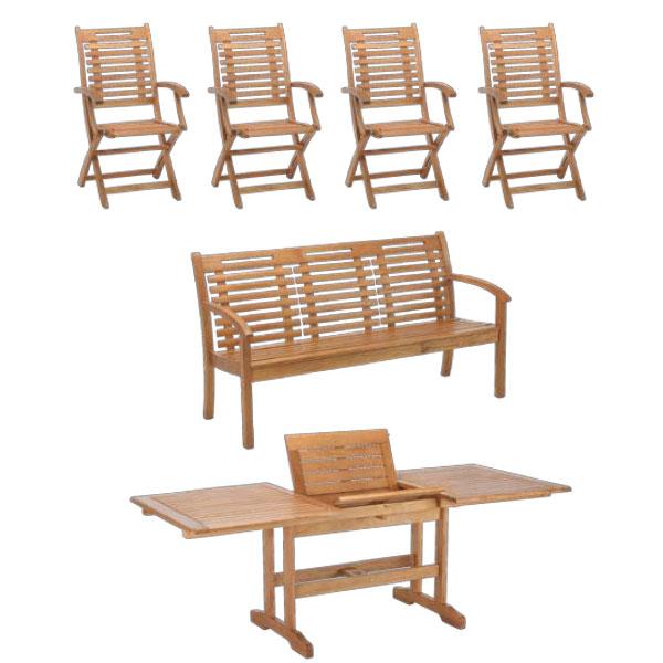 table de jardin modulable