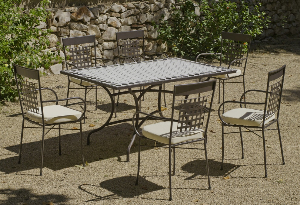 table de jardin mosaique intermarche