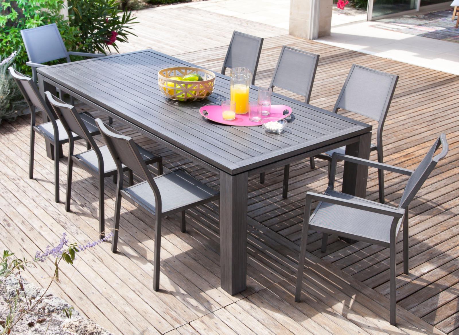 table de jardin naples