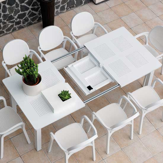 table de jardin nardi maestrale