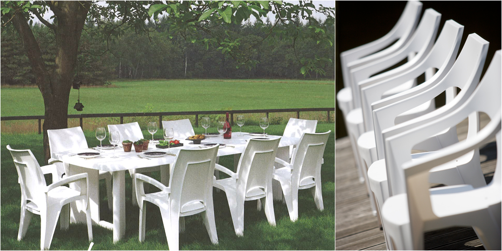 Beautiful Table De Jardin Blanc Plastique Contemporary - House ...