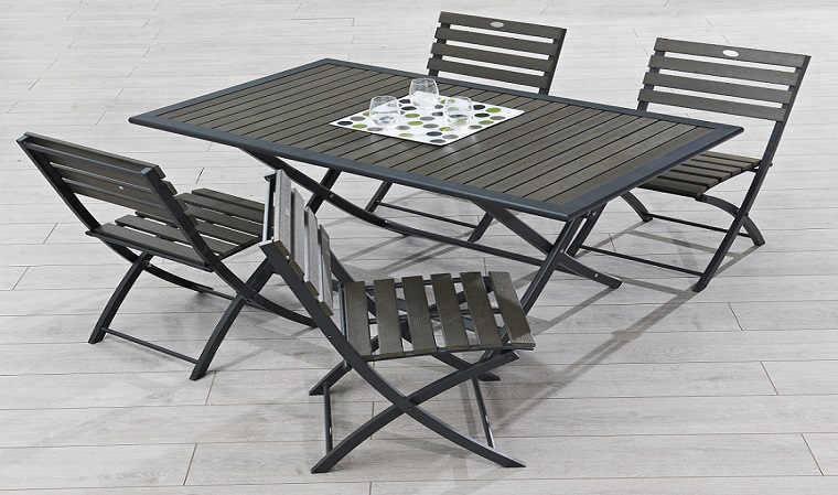 table de jardin pliable cdiscount