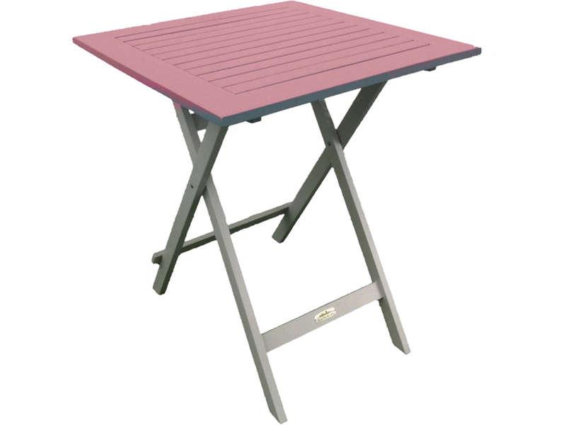 table de jardin pliante 2 personnes
