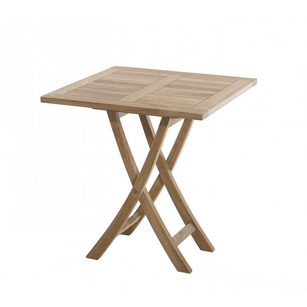 table de jardin pliante 70x70