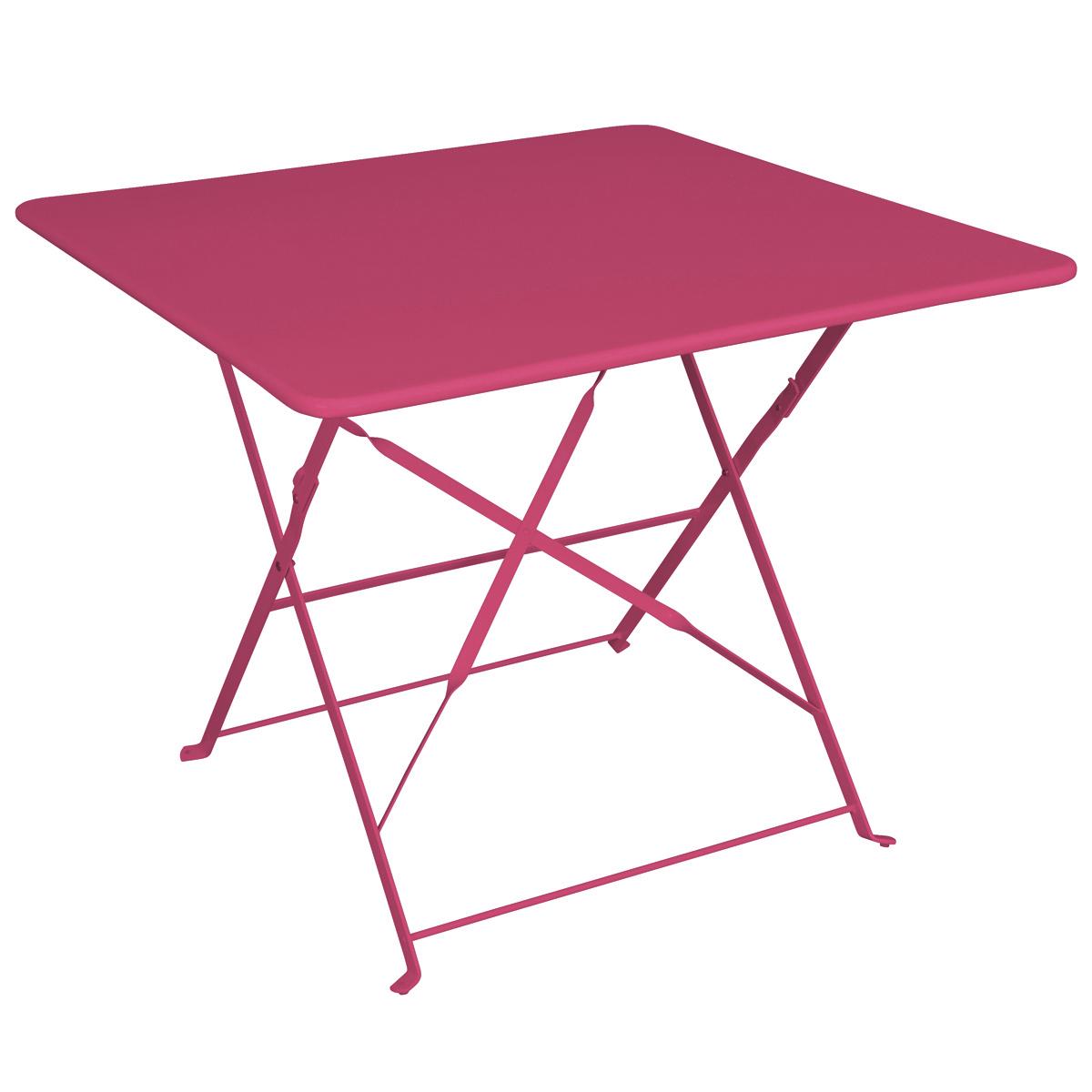 table de jardin pliante 90x90