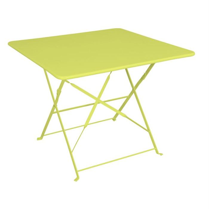 table de jardin pliante 90x90