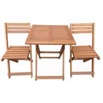 table de jardin pliante bois