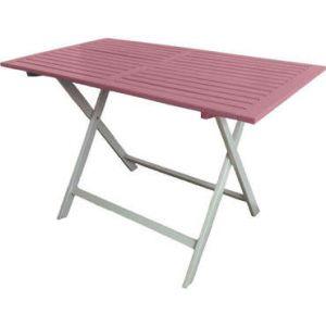 table de jardin pliante castorama