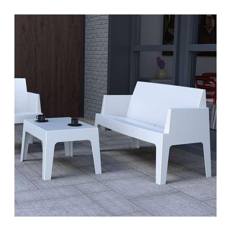 table de jardin polypropylene