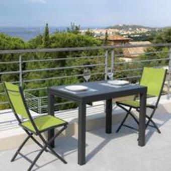 Table De Jardin Pour Balcon