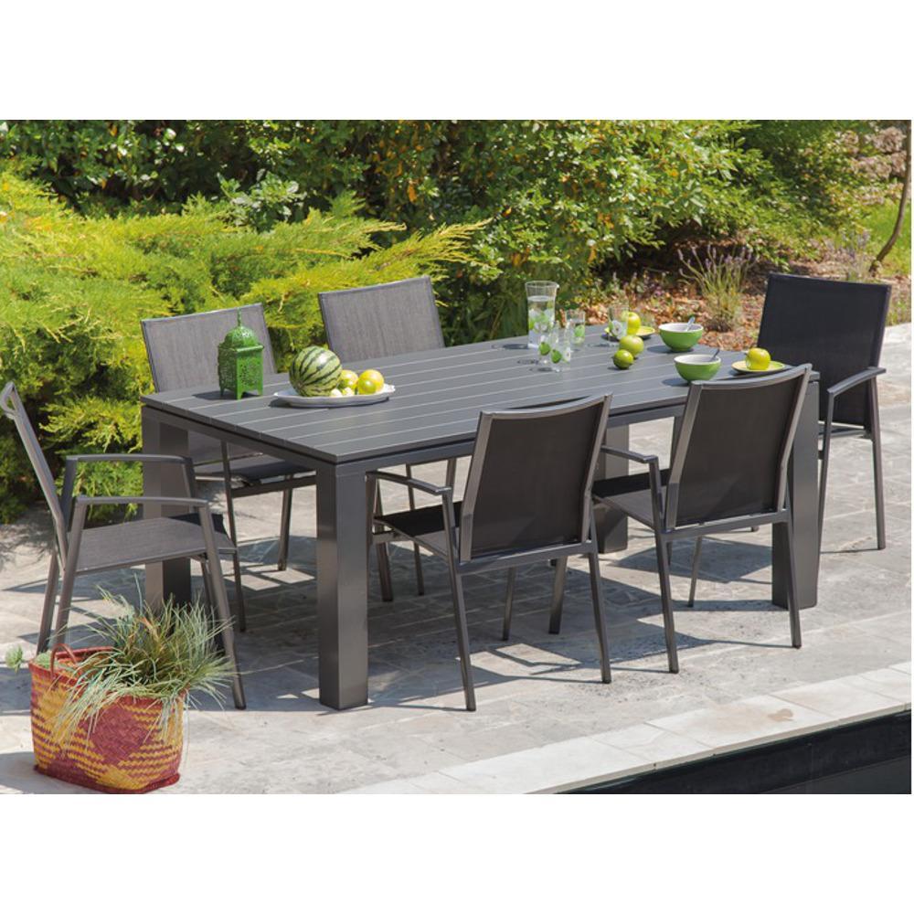Awesome Table De Jardin Couleur Taupe Photos - House Design ...