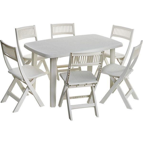 Table De Jardin En Pvc. Emejing Table Salon De Jardin Vega Gallery ...