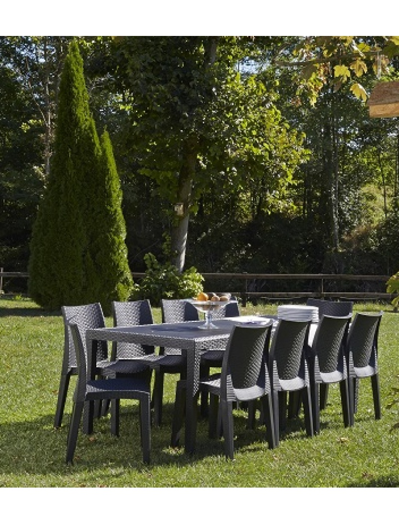 table de jardin queen
