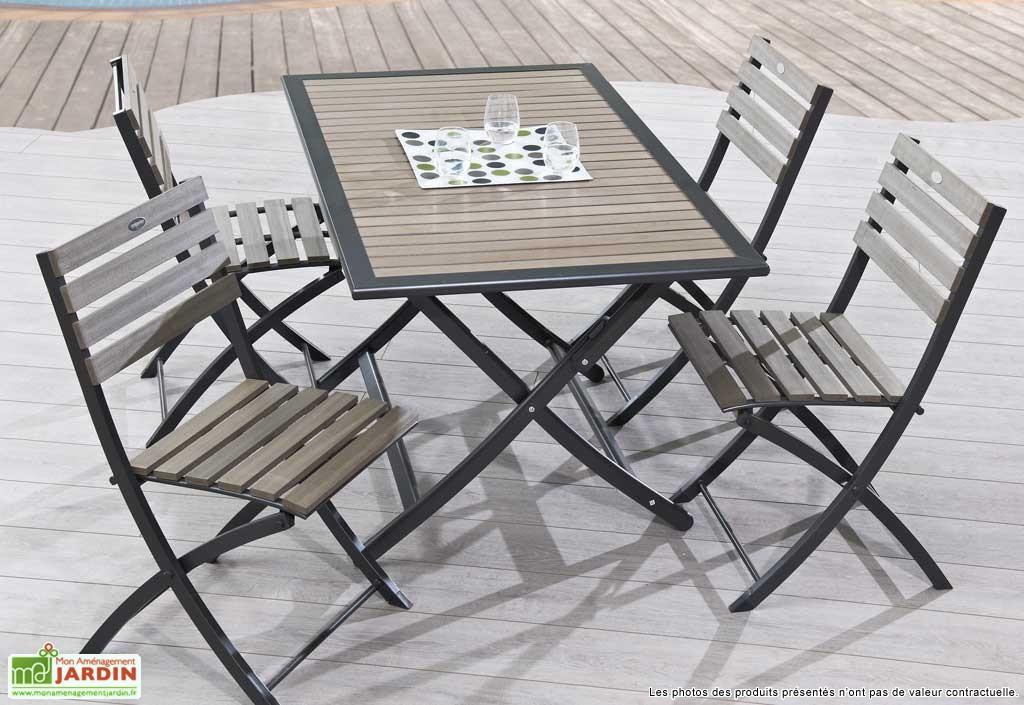 table de jardin rectangulaire pliante