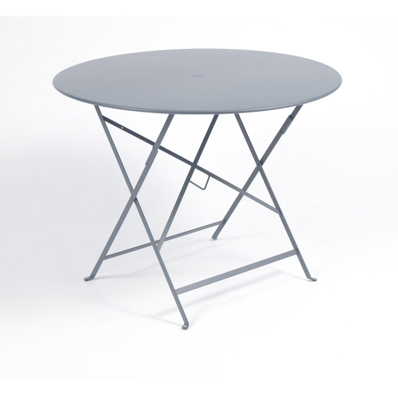 table de jardin ronde 4 personnes