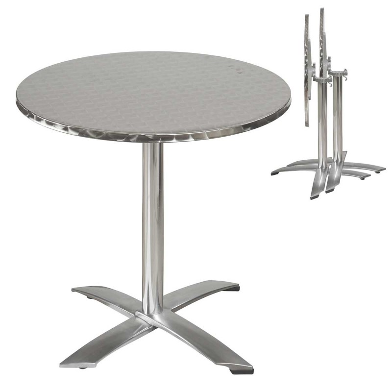 table de jardin ronde 70 cm