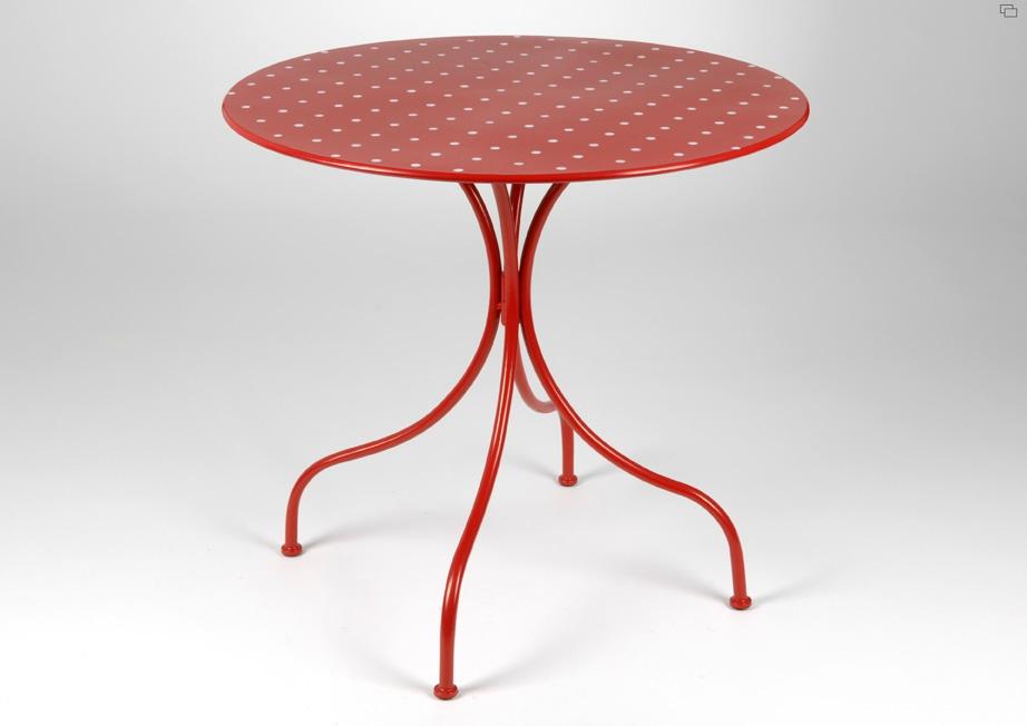 table de jardin ronde 70 cm