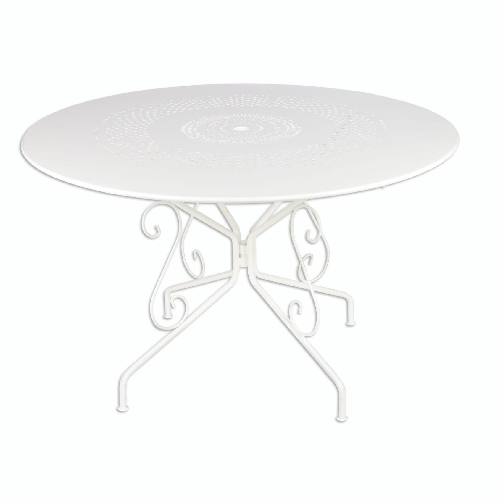 Emejing Table Jardin Ronde Blanche Plastique Ideas - House ...