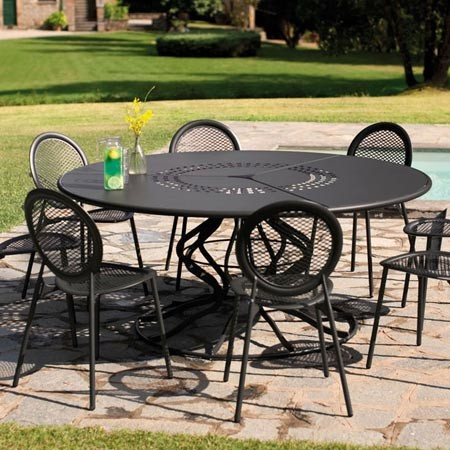 Awesome Salon De Jardin Table Ronde Fer Forge Contemporary - House ...