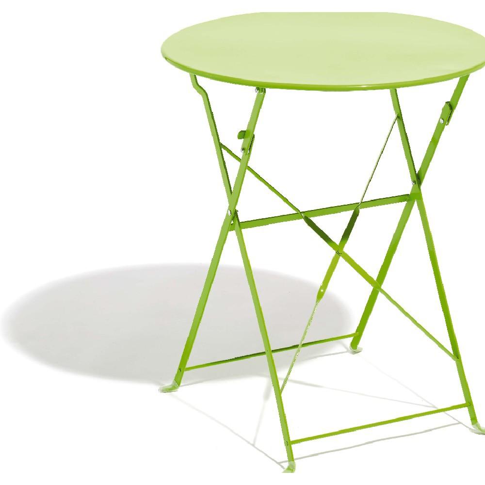 Emejing Table De Jardin Ronde En Fer Gifi Ideas - House ...