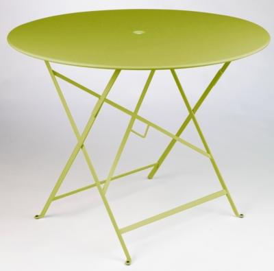 table de jardin ronde pliante