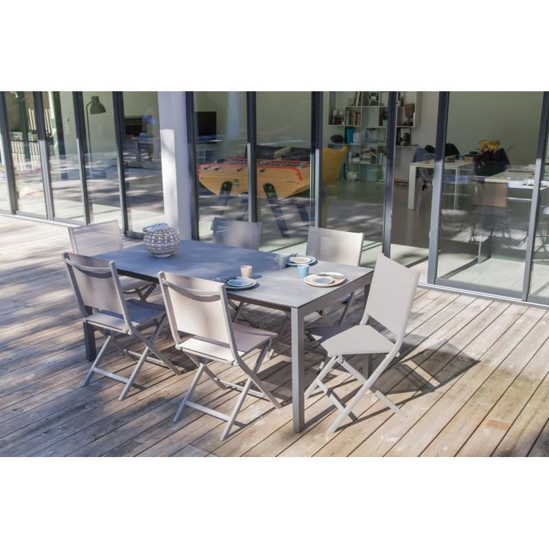 table de jardin soto
