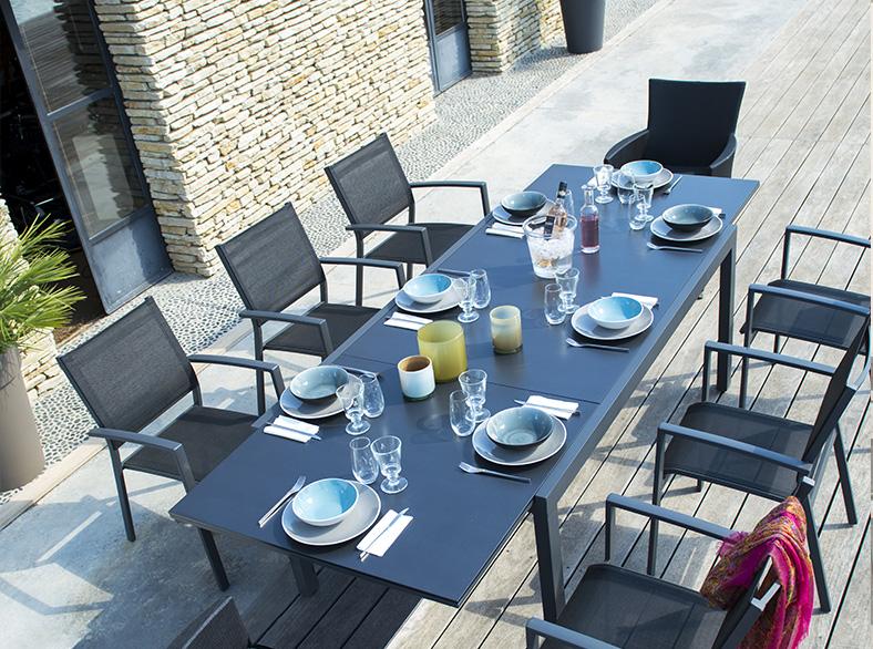 table de jardin sumatra