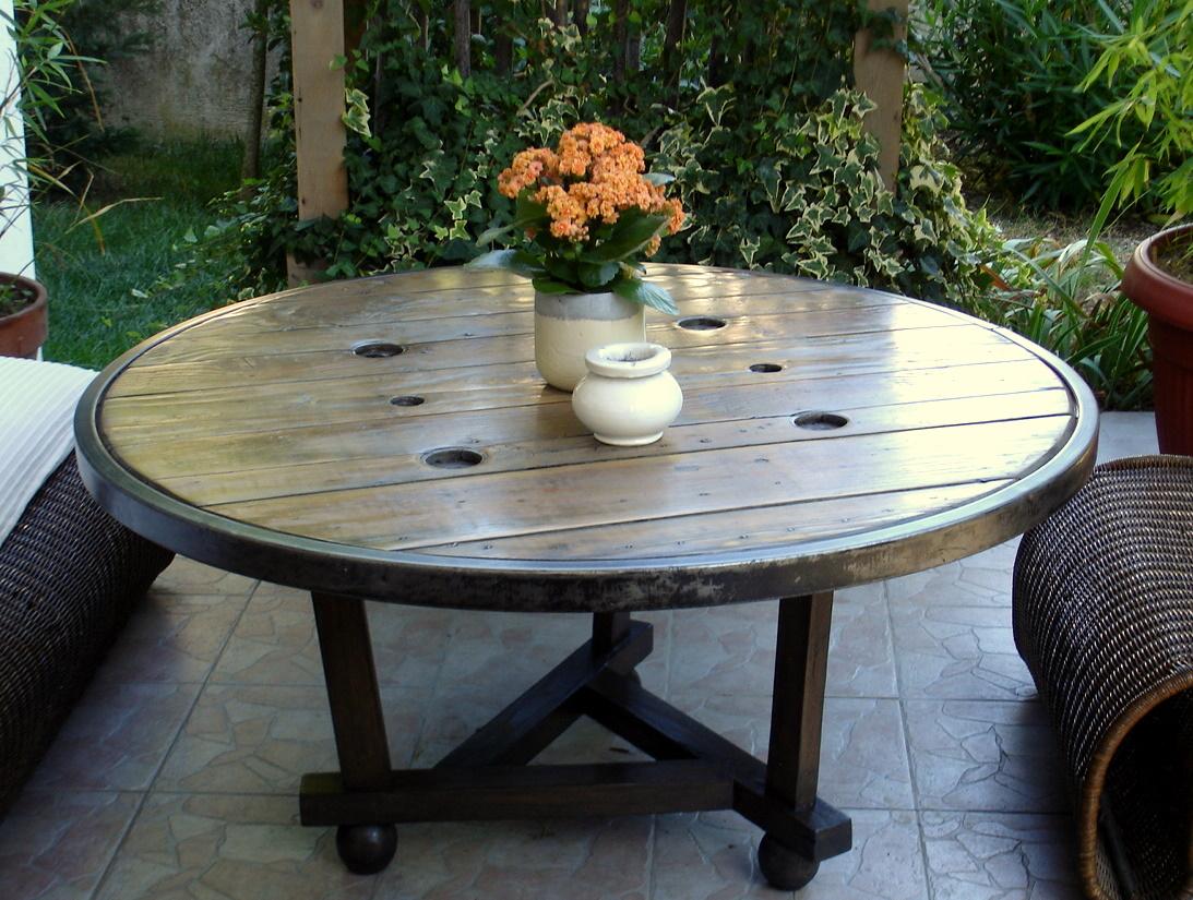 table de jardin touret