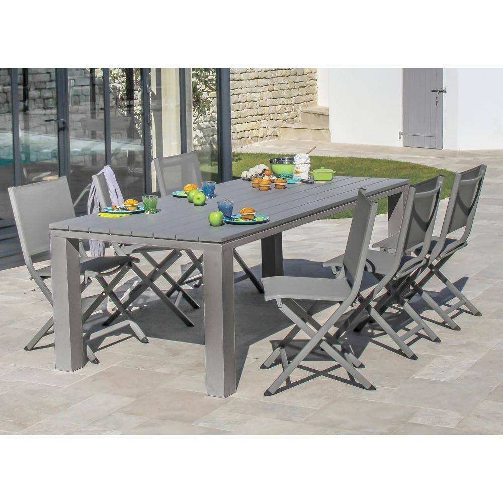 Emejing Table De Jardin Kettler Alu Contemporary - Awesome Interior ...